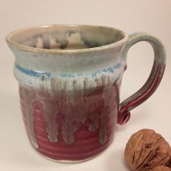 炻器马克杯或中型杯子,右侧视图