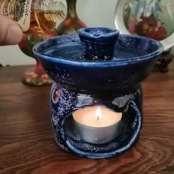 香薰油蒸发器空气清新剂,使用方式的视图