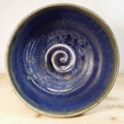 Cuenco pequeño de porcelana, vista interior
