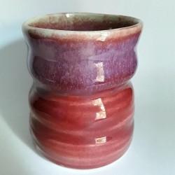 炻器马克杯或中型杯子,背面部侧视图