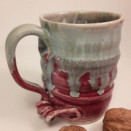 Stoneware mug, medium-sized cup, left view