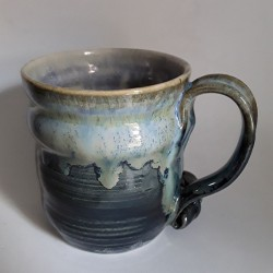 Mug o taza grande de gres, vista derecha
