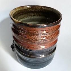 Mug o taza grande de gres, vista interior