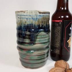 炻器玻璃杯,高玻璃杯,右侧视图