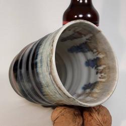 炻器玻璃杯,高玻璃杯,内部侧视图