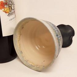 炻器杯子,内部侧视图