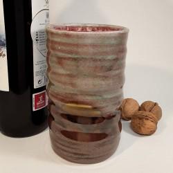 炻器玻璃杯,高玻璃杯,左侧视图