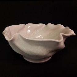 中型碗跟官冰片釉料,侧视图