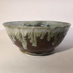 Medium-sized bowl, deep dish, side view