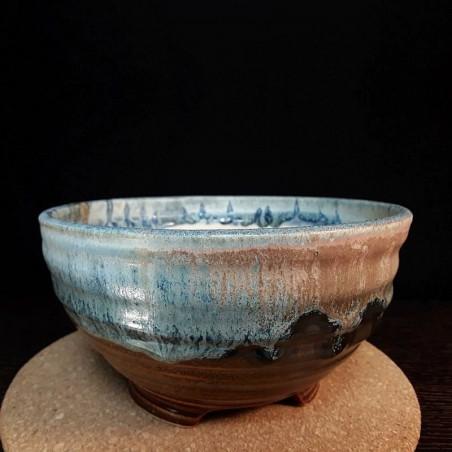 中等尺寸碗,深盘,拉面碗,侧视图