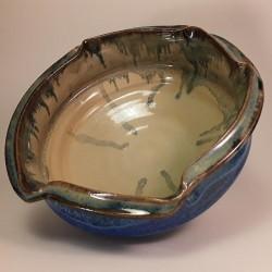 大碗沙拉或水果碗,内视图