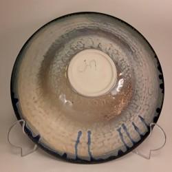 大碗沙拉或水果碗,下视图