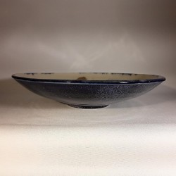 Large bowl salad or fruit bowl, front view
