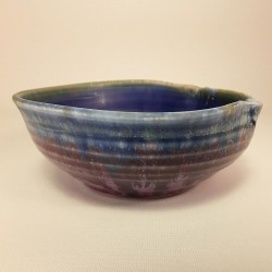 小尺寸瓷器瓷碗,侧视图
