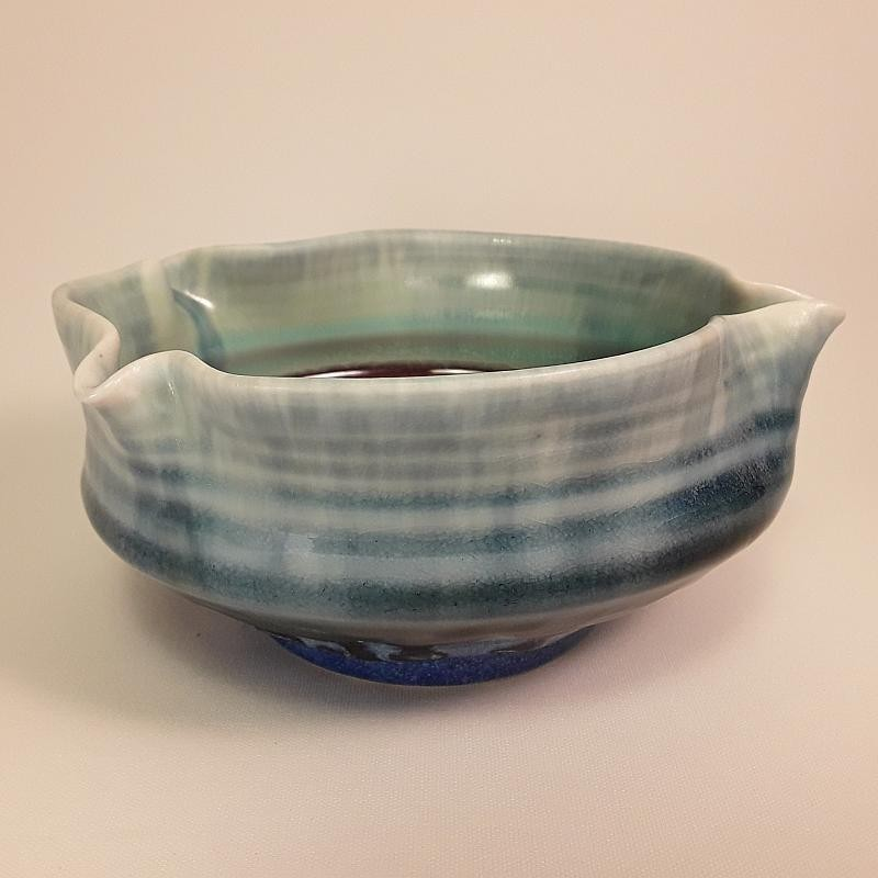 Small porcelain bowl, front view