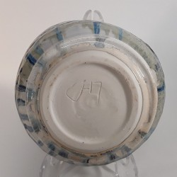 Small porcelain bowl, down side view