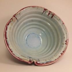 Florero mediano de porcelana, vista interior