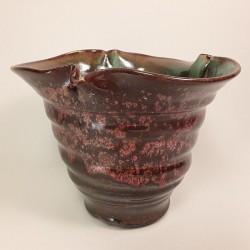 Florero mediano de porcelana, vista frontal