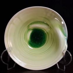 Cuenco ancho de porcelana, vista interior