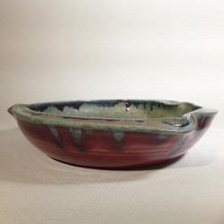 Shallow bowl or deep dish, side view
