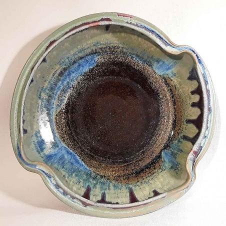 浅碗或深盘,内视图